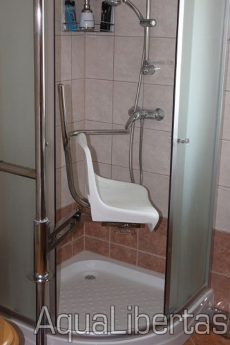Forgószék  zuhanykabinokhoz és fürdőkádakhoz