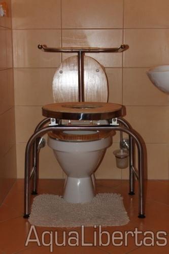 Forgószék  WC-hez